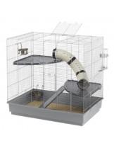Ferplast -JENNY- оборудвана клетка за порчета  с размери -  80х50х79,5