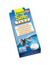 Tetra Safe Tabs - ефективен и бърз подобрител на чешмяната вода и моментално стартиране на нов аквариум, за елиминиране на хлора и тежките метали - 12 таблетки.