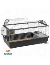 Ferplast CAGE CASITA 120 - напълно оборудвана клетка за декоративни зайчета - 119х58х61см