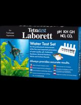 Tetra Laborett (PH, KH, GH, NO2, CO2) - Куфарче с комплект водни тестове за 5 основни показателя на водата в аквариума