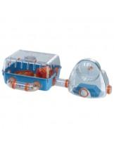 Ferplast -CAGE COMBI 2 - оборудвана клетка - къщичка за хамстери с размери -  79,5x29,5x26,3 см