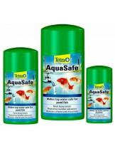 Tetra Pond AquaSafe - Елиминира хлора и тежките метали в езерната вода и я превръщат в годна за обитание от рибите - 250 мл.