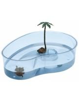 Ferplast - ARRICOT-аквариум за костенурки  с размери - 31х22х75 см.