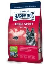 HAPPY DOG  F & W Adult Sport -  Адълт Спорт - за активни кучета над 1 година с пилешко, агнешко и говеждо, с новозеландски миди и билки - 4 кг.