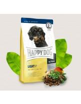 HAPPY DOG  F & W Adult Light Mini - храна за кучета над 12 месеца от мини породи склонни към напълняване с L-карнитин, пилешко, сьомга, морска риба, агнешко, царевица и ориз - 1 кг.