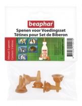 Beaphar Lactol - Индивидуални биберони за домашни любимци - 5 бр.