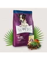HAPPY DOG Sensible Nutrition Irland  MINI - Сюприйм Ирландия  За чувствителни и алергични кучета от дребните породи над 1 година с  агнешко,  сьомга и билки - 4 кг.