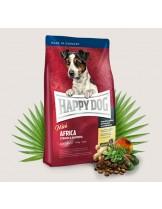 HAPPY DOG Sensible Nutrition Africa MINI - Сюприйм Африка - за чувствителни и алергични кучета над 1 година от дребните породи с месо от щраус и картофи - 1 кг.