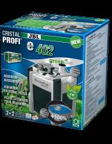 JBL CristalProfi e402 greenline - Енергоспестяващ външен филтър за аквариуми от 40 до 120 л. - 180 х 200 х 295 мм.
