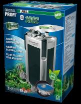 JBL CristalProfi e1902 greenline - Енергоспестяващ външен филтър за аквариуми от 200 до 800 л.  - 200 х 230 х 555 мм.