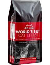 World's Best Cat Litter Multiple cat - най-добрата постелка за котешка тоалетна - 3.18 кг.