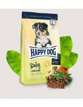 HAPPY DOG Baby Lamb & Rice - пълноценна храна за кученца от 4 седмична до 6 месечна възраст от всички породи с агнешко месо и ориз - 10 кг.