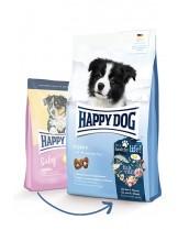 HAPPY DOG Baby Original - пълноценна храна за кученца от 4 седмична до 6 месечна възраст от всички породи с пилешко месо - 18 кг.