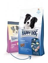 Happy Dog Junior Original - пълноценна храна за подрастващи кучета над 7 месеца от всички породи с пилешко и агнешко - 4 кг.