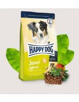 Happy Dog Junior Lamb & Rice - пълноценна храна за подрастващи кучета над 7 месечна възраст - 1 кг.