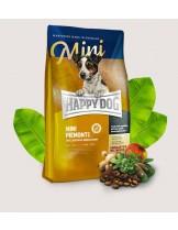 HAPPY DOG Supreme Sensible Mini Piemont - суха храна за чувствителни кучета над 1 година от мини породите с патешко, морска риба и благороден кестен - 4 кг.