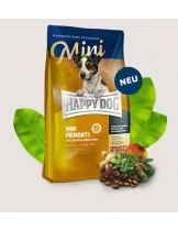 HAPPY DOG Supreme Sensible Mini Piemont - суха храна за чувствителни кучета над 1 година от мини породите с патешко, морска риба и благороден кестен - 1 кг.