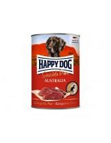 HAPPY DOG - Kanguru Pur - Консерва 100% месо от кенгуру - без соя, растителни добавки, оцветители или консерванти - 0.400 кг.
