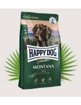 Happy Dog Montana - Суха храна за кучета от всички породи над 1 година без зърно с конско месо - 4 кг.