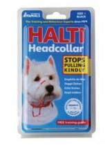 Company of Animals - Нашийник през глава за куче за предотвратяване на дърпането на кучето - Headcollar 1 - черен