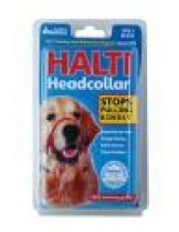 Company of Animals - Нашийник през глава за куче за предотвратяване на дърпането на кучето - Headcollar 3- черен