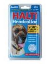 Company of Animals - Нашийник през глава за куче за предотвратяване на дърпането на кучето - Headcollar 4- черен