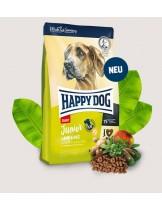 Happy Dog Junior Giant Lamb & Rice - пълноценна храна за подрастващи кучета гигантските породи от 7 до 18 месеца - 15 кг.