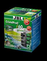 JBL Cristal Profi i60 greenline - Вътрешен, ъглов филтър за аквариуми до 80 л. или 60 см. дължина - размери - 85 x 85 x 155 mm.