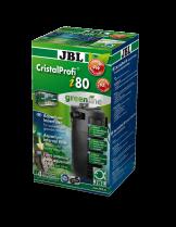 JBL CristalProfi i80 greenline - Вътрешен, ъглов филтър за аквариуми до 110 л. или 80 см. дължина - размери - 85 x 85 x 225 mm.