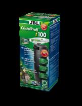 JBL CristalProfi i100 greenline - Вътрешен, ъглов филтър за аквариуми до 160 л. или 100 см. дължина - 85 x 85 x 295 mm.