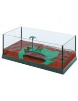 Ferplast - HAITI 50 - аквариум за костенурки  с размери - 51,5х27х18,5 см