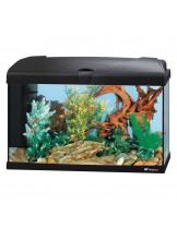 Ferplast Aquarium Capri 60 LED BLACK  - аквариум с пълно оборудване и LED осветление - 60 x 31,5 x h 39,5 см - 60 л. - черен