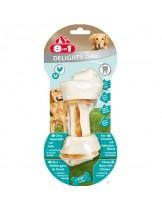 8in1 - Дента кокал с пилешко за ефективно почистване на зъбите - L