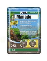 JBL Manado - натурален субстрат за филтрация на водата и подхранване растежа на водните растения в аквариума - 25 l.