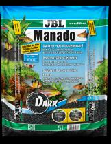 JBL Manado Dark - натурален субстрат за естествена филтрация и подхранване растежа на водните растения в аквариума - 5 l.