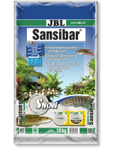 JBL Sansibar SNOW  - дънен, подхранващ субстат за сладководни или соленоводни аквариуми и териариуми - 10 кг. - Снежно бял