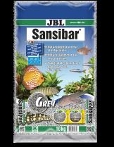 JBL Sansibar GREY  - дънен, подхранващ субстат за сладководни или соленоводни аквариуми и териариуми - 10 кг. - Сив