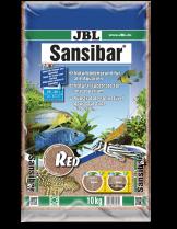 JBL Sansibar RED  - дънен, подхранващ субстат за сладководни или соленоводни аквариуми и териариуми - 10 кг. - червен