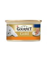 Gourmet Gold - консерва за котки над 1 година - мус пуйка - 85 гр.