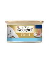 Gourmet Gold - консерва за котки над 1 година - мус океанска риба - 85 гр.