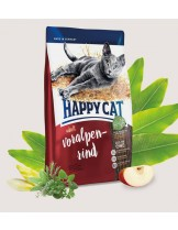 HAPPY CAT Ѕupreme – Adult Voralpen-rind - храна за котка над 12 месеца - с алпийско говеждо и пилешко - 4 кг.