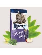 HAPPY CAT Adult Ѕupreme – Best Age 10+ - храна за котка над 10 години с  говеждо, пилешко и сьомга - 4 кг.