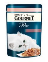 Gourmet Perle  - пауч за котки над 1 година - говеждо и моркови - 85 гр.