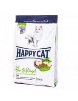 HAPPY CAT La Cuisine Bio Geflugel - храна за котка - Ла Кузин  - За чувствителни котки над 12 месеца с органично пилешко - 0.300 кг.