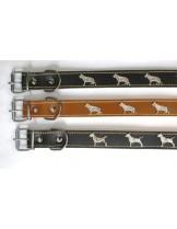 Миазоо Нашийник за куче немска овчарка неутрален или черен - 3.0/60 см.