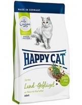HAPPY CAT La Cuisine Bio Geflugel - храна за котка - Ла Кузин  - За чувствителни котки над 12 месеца с органично пилешко - 1.800 кг.