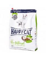 HAPPY CAT La Cuisine Bio Geflugel - храна за котка - Ла Кузин  - За чувствителни котки над 12 месеца с органично пилешко - 4.00 кг.