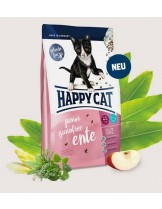 Happy Cat Junior Grainfree Ente - Храна без зърно за подрастващи, котета на възраст от 1 до 12 месеца с патешко - 4 кг.