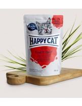 Happy Cat Meat in Sauce Adult Veal & Liver - неустоим пауч за израстнали котки с говеждо и черен дроб - 85 гр.