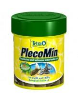 Tetra PlecoMin - Растителни таблетки за тропически дънни рибки със спирулина алгии - 120 бр.